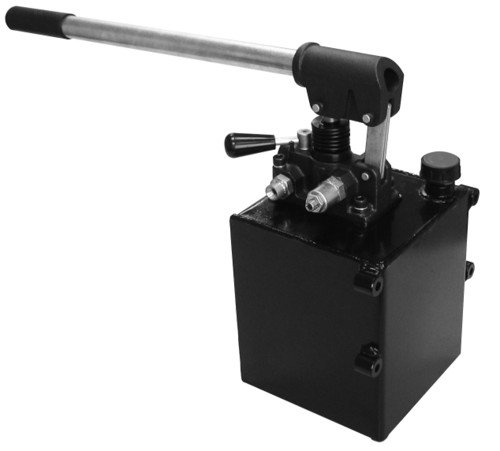 CHIEF Double-Acting Hand Operated Hydraulic Pump With Handle: 1.3 Gallon Reservoir, 3625 PSI, 18 Lbs, 3/8'' NPT Ports, 220996 by Chief (Image #1)
