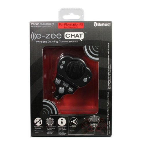 e-zee CHAT Wireless Gaming Communicator Microphone For Controller PlayStation 3 Review