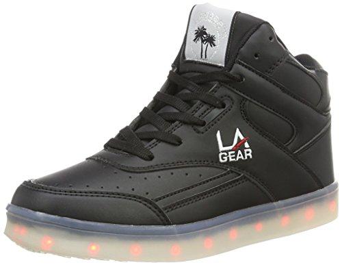 Flo Black Outsole L Montantes Lights Gear Wht 4 Noir II A Femme 8w8qvSEn