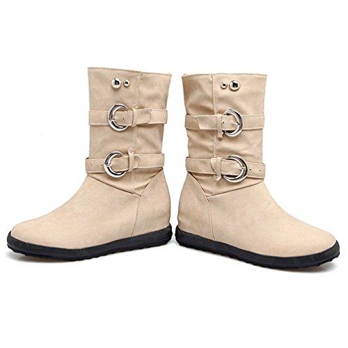 Bottes Bottines Hiver Chaude Femme Heheja Classiques Martin Chaussures Loisirs w6xqtnpHC