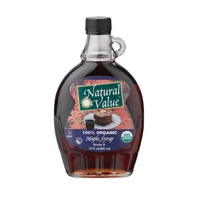 Natural Value A Dark Amber Maple, 12-Ounce (Pack of 12)