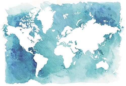 (Baocicco 8x6.5ft Map Backdrop Marine Theme Treasure Hunt Backdrop World Map Photo Background Wallpaper Decor Boy's Birthday Party Boy Man Artistic Portrait Navigation Theme Studio Video)