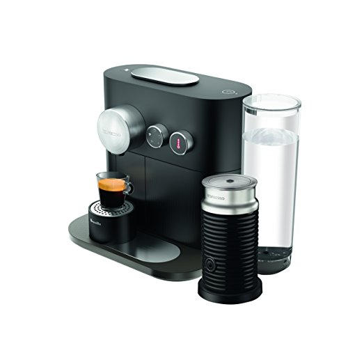 nespresso expert coffee machine by breville with aeroccino. Black Bedroom Furniture Sets. Home Design Ideas