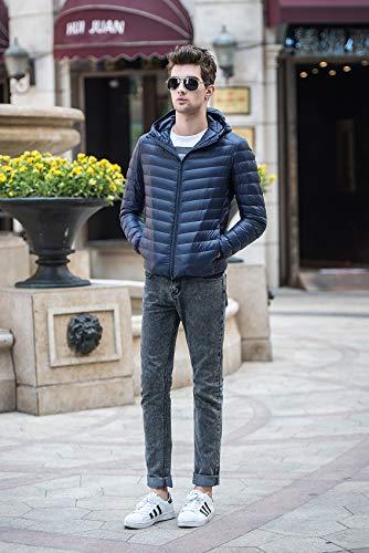 Auspicious Adolescent Jacket Léger Coat Puffer Matelassé Manteau Down Marine Beginning Homme Hoodie 1Evxqp1r