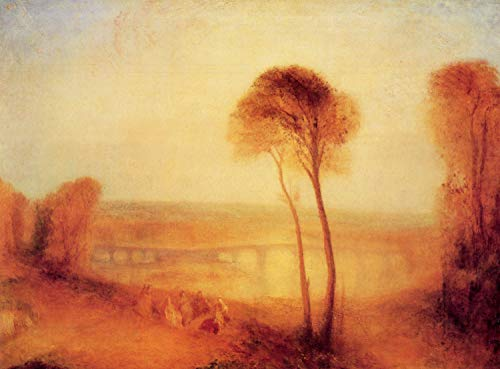 - Home Comforts Acrylic Face Mounted Prints Turner, Joseph Mallord William - Landscape with Walton Bridges Print 24 x 36. Worry Free Wall Installation - Shadow Mount is Included.