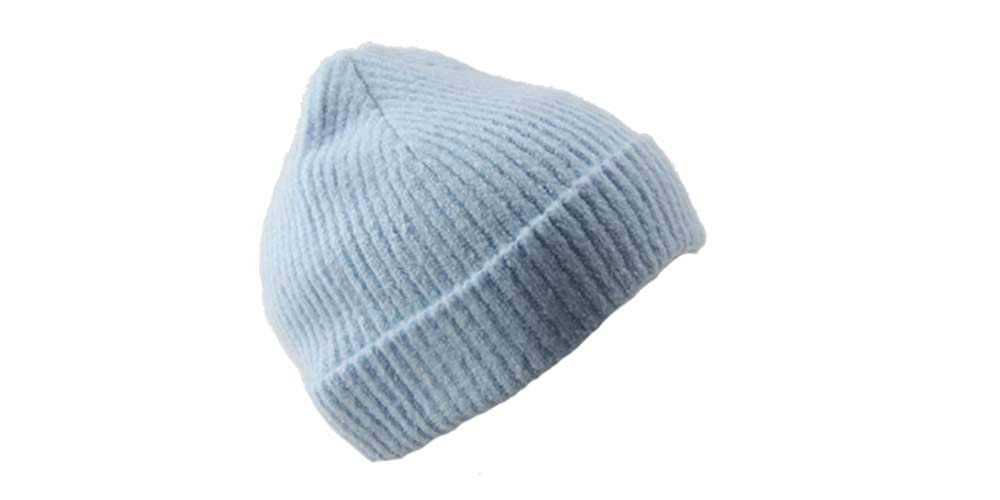 Light bluee MBM CORP Winter Warm Soft Knit Beanie  Comfy & Cute Beanie Hats for Women  Comfortable Beanies for Serious Style