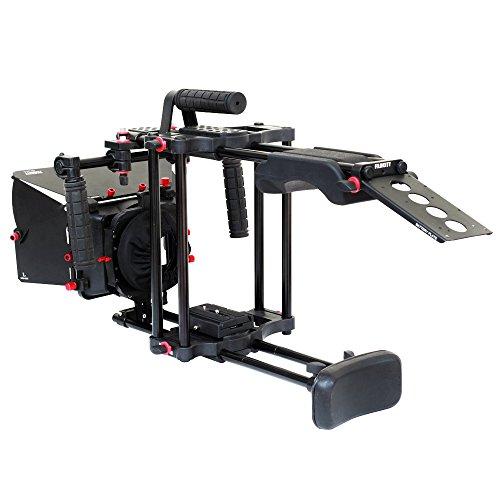 FILMCITY Belly Cruzer Camera Shoulder Mount | Shoulder Rig Support for Video DV HD DSLR Cameras | Mattebox (FC-BC-DSR)