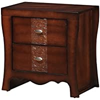 Elements International Clifton Nightstands