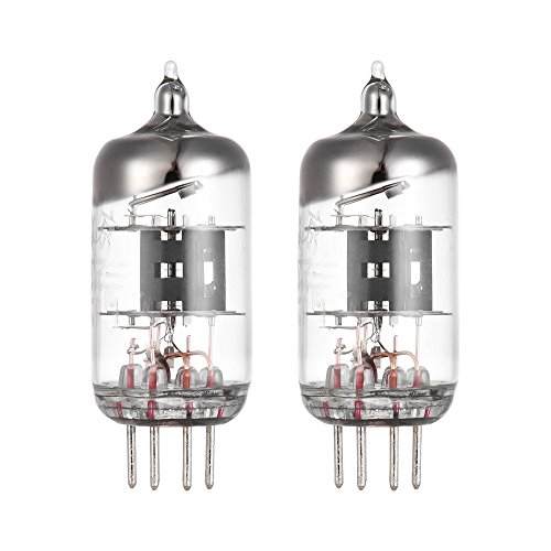 ammoon 5654 6J1 Preamp Electron Vacuum Tube 7-pin for EF95 6AK5 5654 6J1 403A Audio Amplifier Tube Replacement