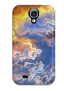 Premium Multicolor Abstract Art Back Cover Snap On Case For Galaxy S4