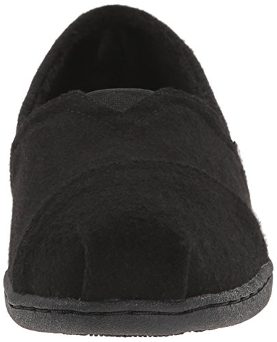 BOBS from Skechers Womens Bliss Highbrow Flat, Brown Woven, 10 M US Black