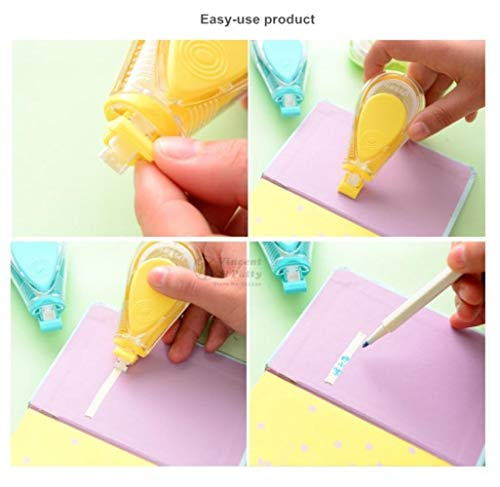 12 pcs/Lot Macaron color Water drips Correction tape LPS tapes stationery corretivo escolar fita Office supplies by PomPomHome (Image #4)