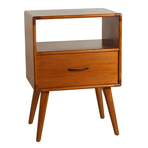 Porthos Home Andrew Mid-Century Side Table,