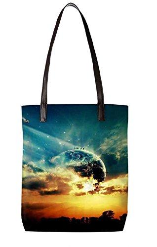 Snoogg Strandtasche, mehrfarbig (mehrfarbig) - LTR-BL-3516-ToteBag