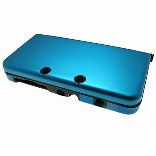 NEW-3DS-NEW-3DS-XL-CASE-For-Nintendo-NEW-3DS-NEW-3DS-XL-N3DS-N3DS-XL-Aluminum-Metal-Hybrid-Crystal-Case-Protector-Cover-Free-Screen-Protectors