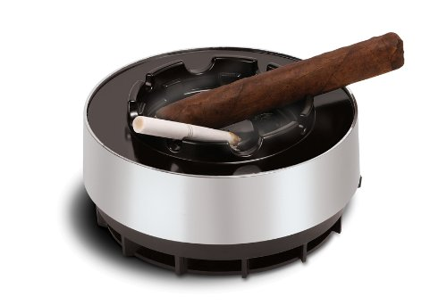Smokeless Ashtray Smoke Free Ash Tray Battery Operated Portable Ideal for Use with Cigarettes, Cigars, Cigarillos, Pipes and More - Use At Home and Office Workplace. Brand: Perfect Life Ideas (Cigarette Free Smoke)