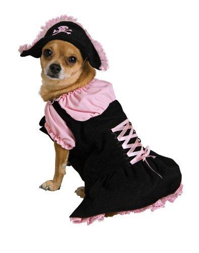 Dog Costumes - Pink Pirate Dog Costume Xtra