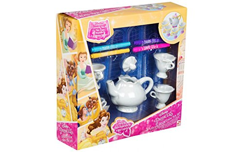 Disney Princess Create Your Own Tea Set with Mrs Pots and Chip!