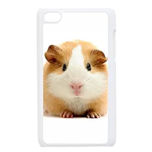 Diy Cute Hamster Phone Case for ipod touch 4 White Shell Phone JFLIFE(TM) [Pattern-1]