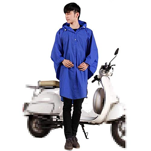 Para 2 Color Moda Capucha Dama Impermeable Sólido Poncho Lluvia Chaqueta Bicicleta Casual RqwRH