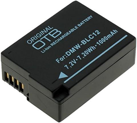 Digibuddy Akku Für Panasonic Dmw Blc12 Li Ion Schwarz Kamera