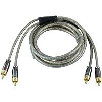 Xscorpion QSP15 15-Feet Quad Shield Platinum RCA Interconnect Cable