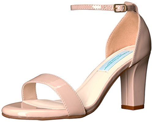 Dyeables, Inc Womens Women's Maddox Dress Sandal, Nude, 9.5 M US