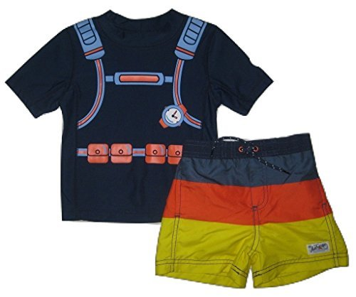 Carter's Scuba Diver Rash Guard & Swim Trunks Set, 24 Months
