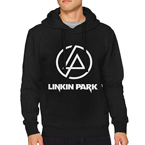 SKsaqfahyijnbvf Mens Linkin-Park \r\nParticular\r\nSweatshirt Hoodie Black