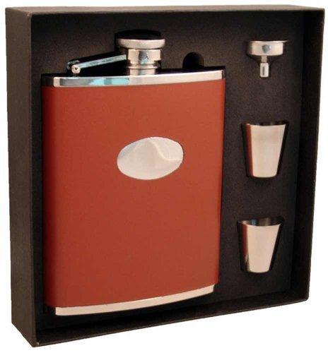 大きい割引 Visol VSET200-1130 Leather Deluxe Flask Visol Gift Set, by 18-Ounce, Bobcat Flask Brown by Visol B01N0ZM981, ミナミミノワムラ:6300ad04 --- refer.officeporto.com