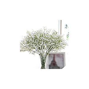 1Pc Artificial Baby's Breath Flower Gypsophila Fake Silicone Plant for Wedding Home Party Decoration 5 Colors 29