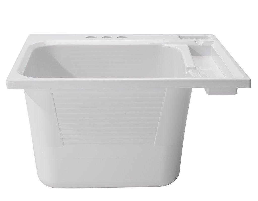 CASHEL Drop-In Sink - Essential Kit, White, 1970-20-01
