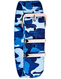 WS-BC Children's Watch Strap - Blue Camo