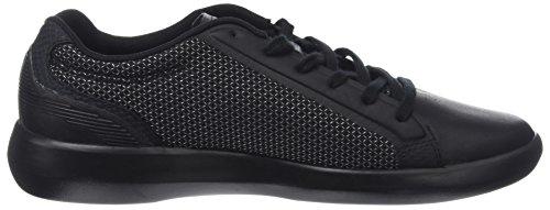 Lacoste Avantor 118 3 Spm, Sneaker Uomo Nero (Blk/Blk)