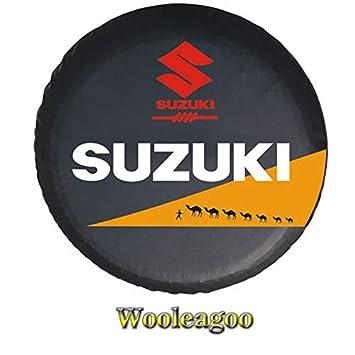 Wooleagoo - Funda Protectora de Vinilo para Rueda de Repuesto: Amazon.es: Coche y moto