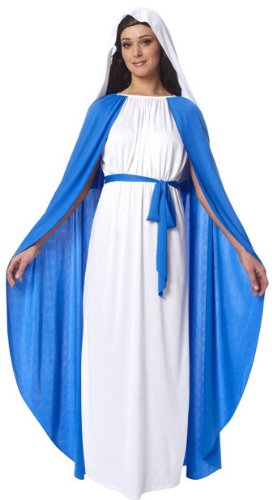 Virgin Mary Religious Adult Costume]()