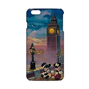 Cool-benz Mickey Mouse under tower 3D Phone Case for iPhone 6 plus