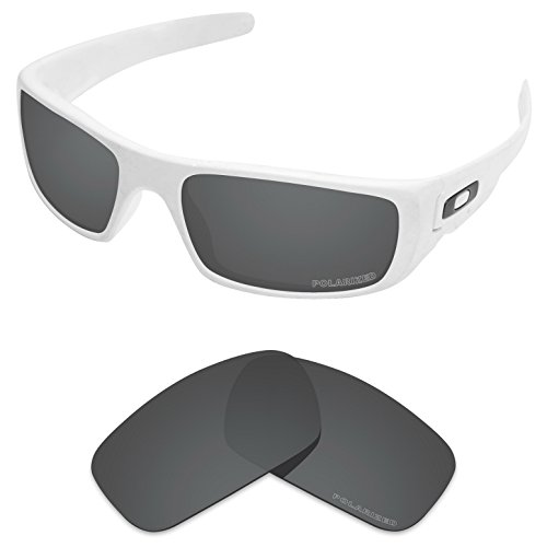 61978ed9449 Tintart Performance Replacement Lenses for Oakley Crankshaft Sunglass  Polarized Etched-Carbon Black