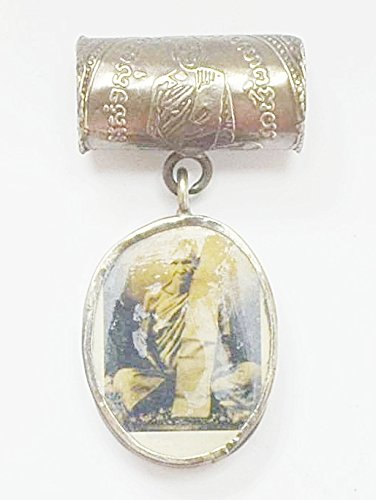 Lucky & Protection Amulets Be 2482 OLD Takrut & Locket Lp Derm Statue Real Thai - Store 2482