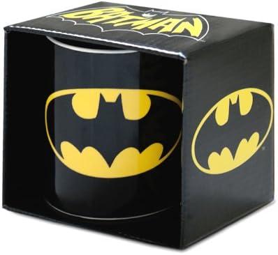Tazza di batman klang & kleid, logoshirt, colore nero 683-0526/001