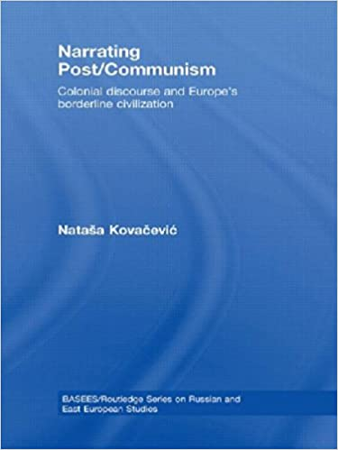 Book Narrating Post/Communism: Colonial Discourse and Europe's Borderline Civilization (BASEES/Routledge Series on Russian and East European Studies)
