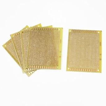 eDealMax 5 piezas de cobre de prototipos PCB de tarjetas de ...