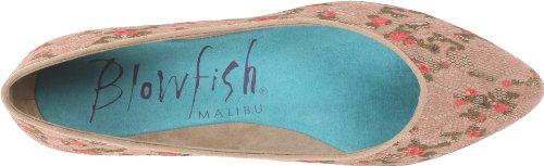 Blowfish Womens Dame Tan Angel Lace Flat 7 M fkVyZiNIS