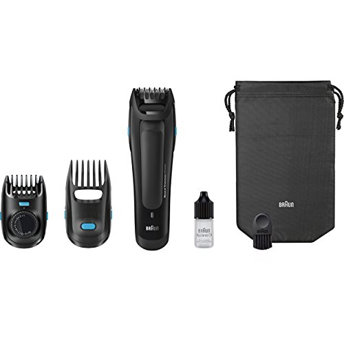braun bt5050 beard trimmer for men with 25 length settings for precision cordless and. Black Bedroom Furniture Sets. Home Design Ideas