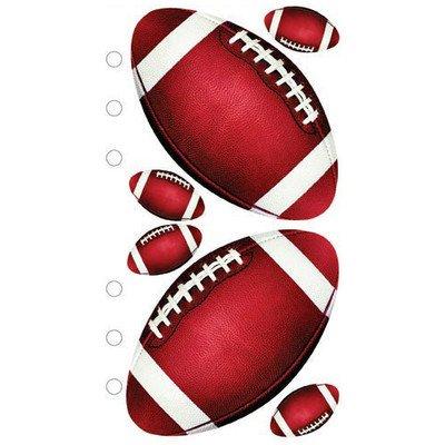 - Sticko Photo Football Sticker [Set of 5]