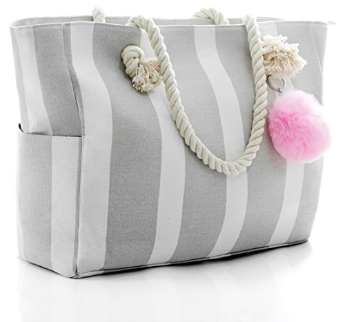 Canvas Beach Tote Bags - 3