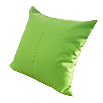 Lime Green Water Resistant Outdoor Filled 18quot Garden Furniture Cushion