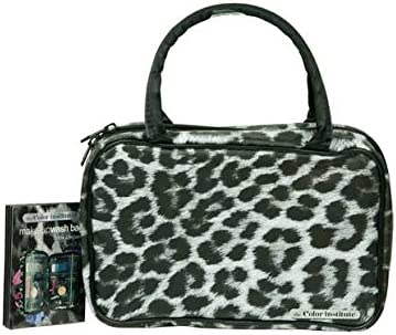 Snow Leopard Cosmetic Wash Bag.: Amazon.co.uk: Beauty