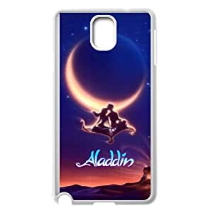 Samsung Galaxy Note 3 Cell Phone Case White Aladdin Tulxk