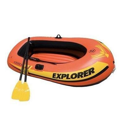 2 Person Seahawk Boat - Intex 2-Person Sea Hawk Boat Set 73 in. X 37 in. 18 Ga Vinyl
